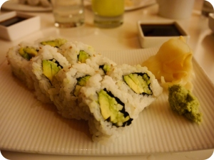 California Roll Sans The Crab