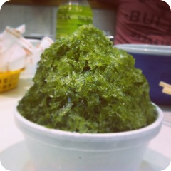 Green Tea Shave Ice