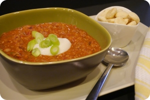 Vegan Soyrizo Chili