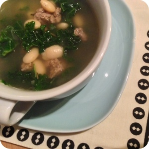 Kale, Turkey & White Bean Soup