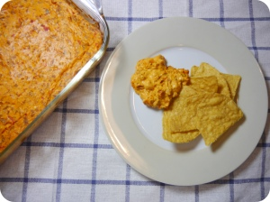 Chorizo Dip with Chips