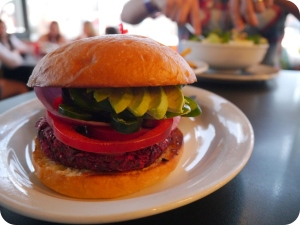 24 Hour Diner - Vegan Burger