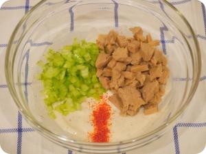 Not-Chicken Salad Ingredients