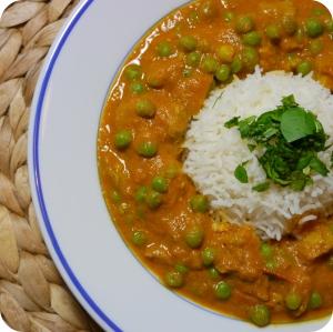 Seitan Chicken Curry