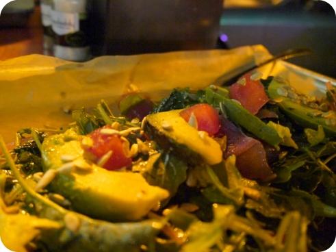 Baby Kale Salad - Hopdoddy