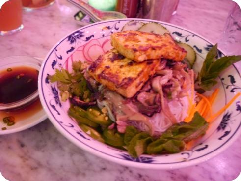 Vegan Bun - Elizabeth Street Cafe