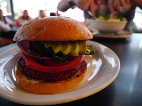 Vegan Burger - 24 Diner