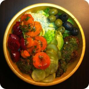 Maoz NYC - Falafel Salad