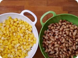 Corn and Black Eyed Peas