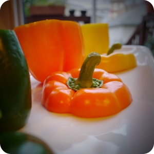 Raw Peppers