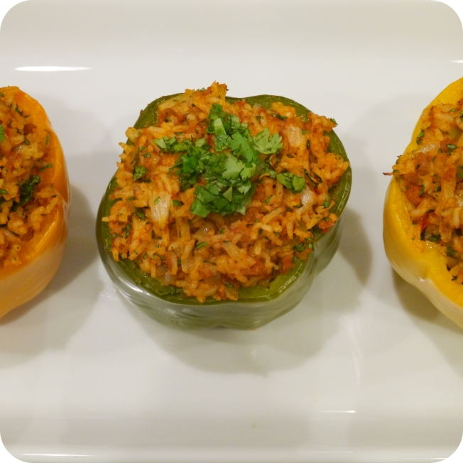 Soyrizo Stuffed Peppers