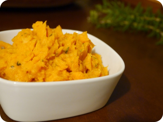 Vegan Mashed Sweet Potatoes