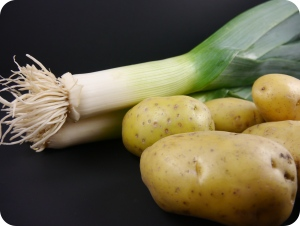 Potatoes and Leeks