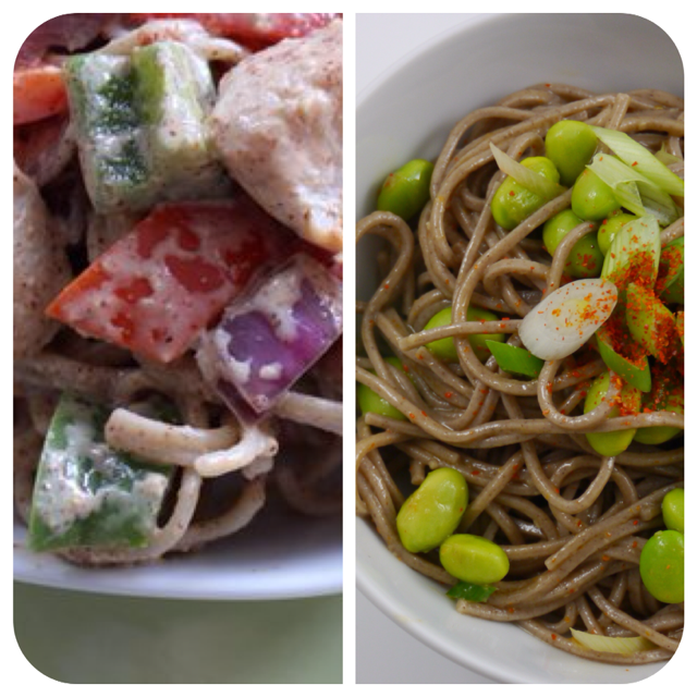 Noodle Salad Face Off